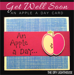 Apple a day card pinterest