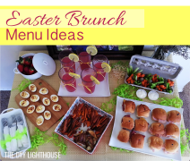 Easter Brunch Menu Ideas Pinterest Logo