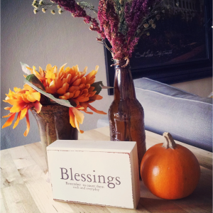 Fall Decor Blessings