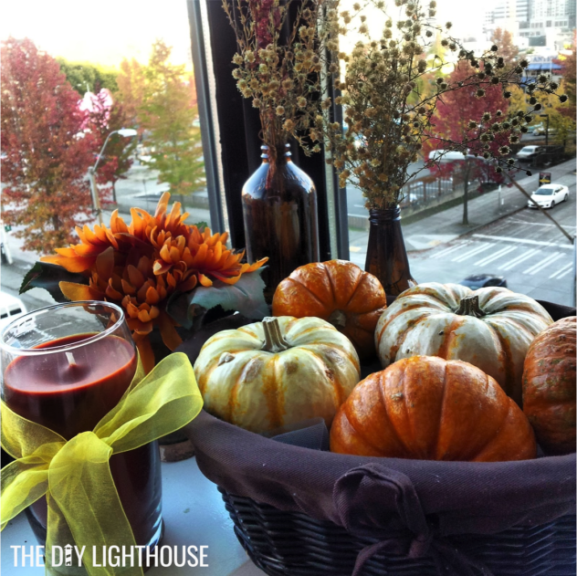 Fall Decor the DIY Lighthouse