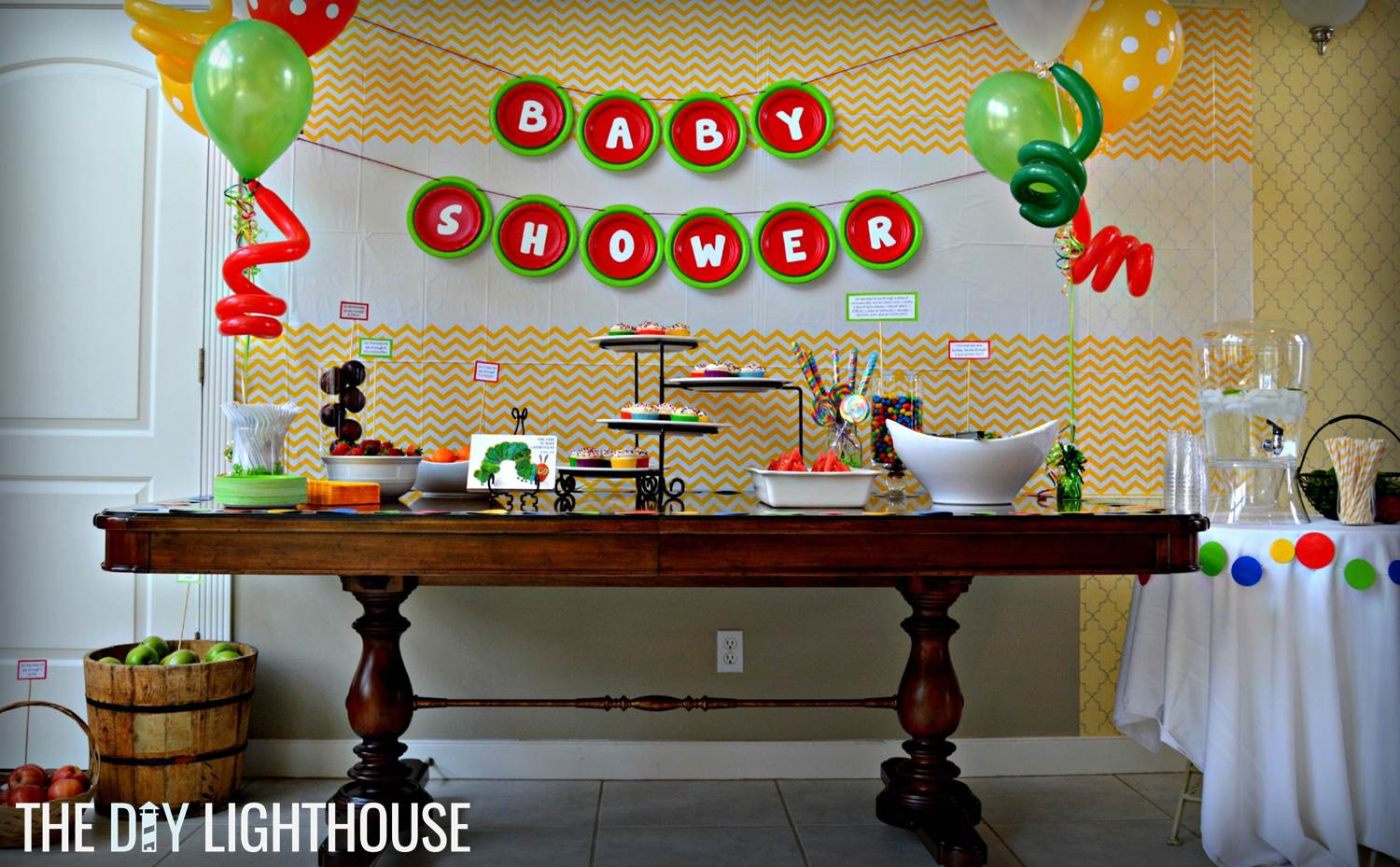How To Throw A Very Hungry Caterpillar Baby Shower The