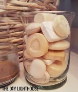 DIY Vintage Soap Jar: Bathroom Decor