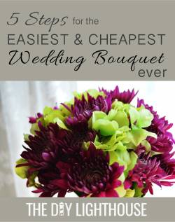 wedding bouquet DIY watermark
