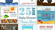 25 {Boy} Baby Shower Theme Ideas