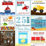 25 Boy Baby Shower Theme Ideas Compilation