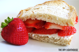berry yummy sandwich
