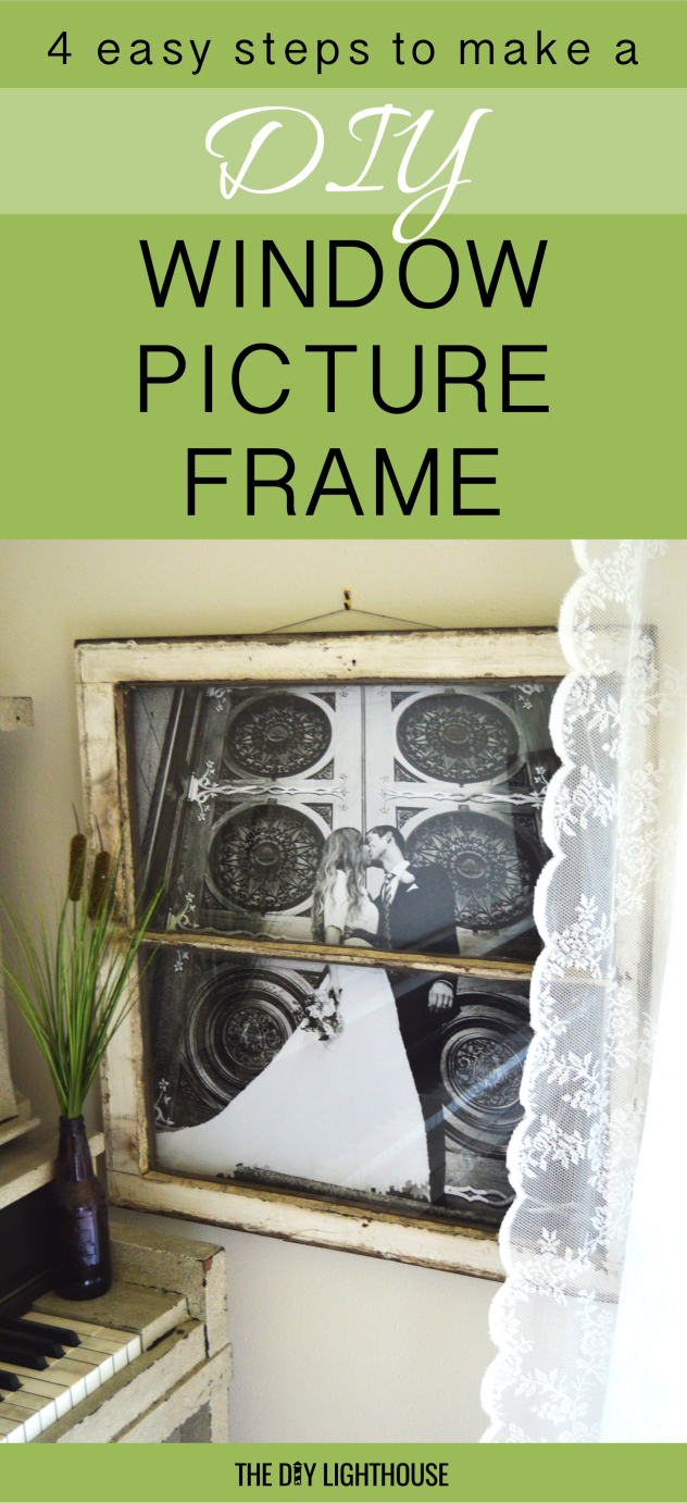 diy window picture frame pinterest