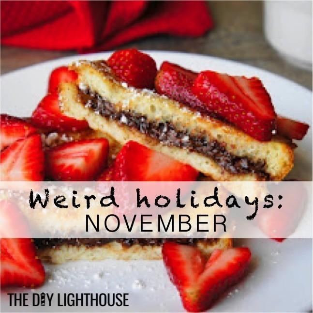 Weird Wacky Food Holidays