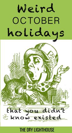 weird october holidays