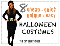 8 ideas for cheap quick unique and easy halloween costumes