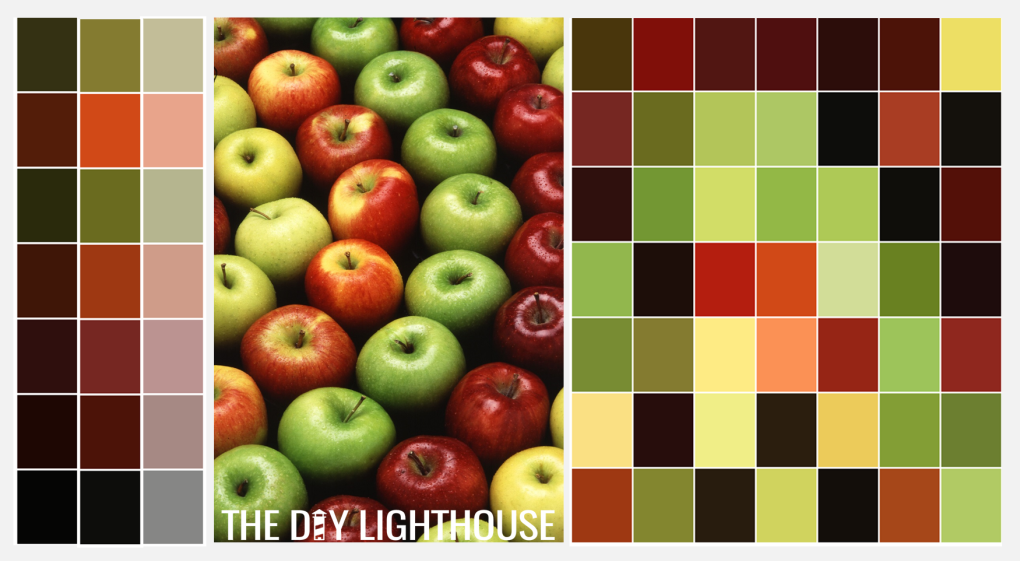 Fall Color Palette Combinations - Fall Apples