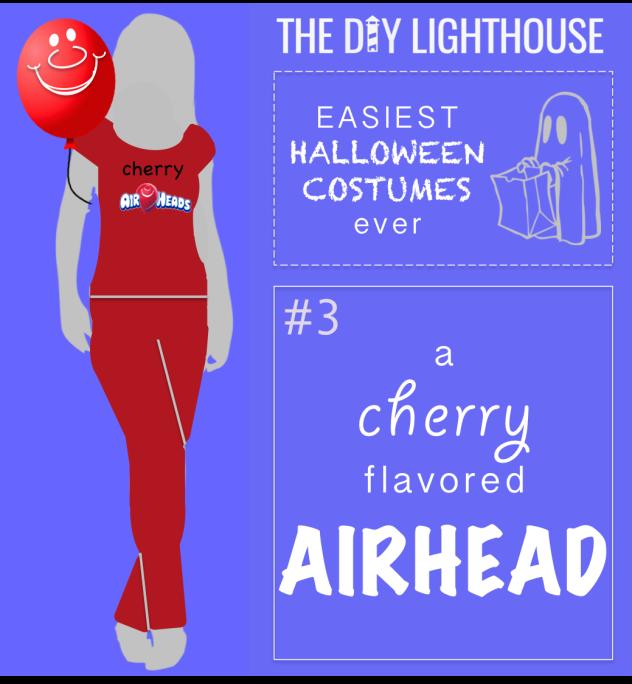 easy halloween costume idea--an airhead