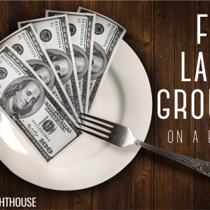 how to feed large groups on a budget