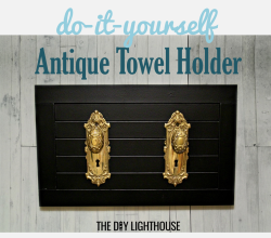 Antique Towel Holder
