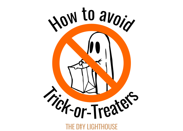 How to avoid trick or treaters image