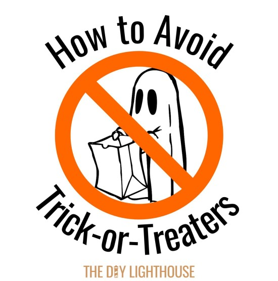 How to avoid trick or treaters