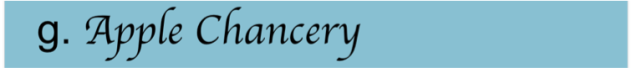 Apple Chancery