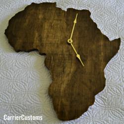 CarrierCustoms Africa clock