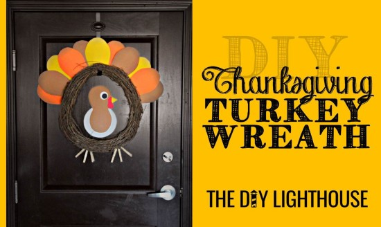 DIY Thanksgiving Turkey Wreath