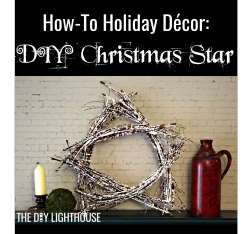 How-to Holiday Decor DIY Christmas Star