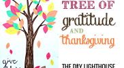 Tree of Gratitude and Thanksgiving How-to