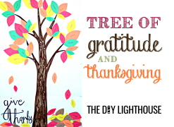 Tree of gratitude & thanksgiving