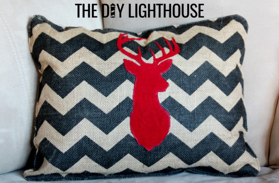 DIY Christmas Elk Pillow