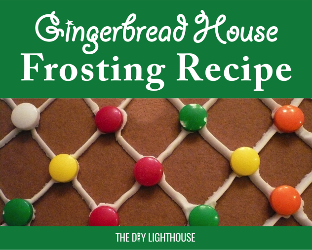 gingerbread house frosting recipe