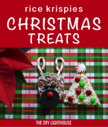 Rudolph the Red-Nosed Reindeer Rice Krispy Treats