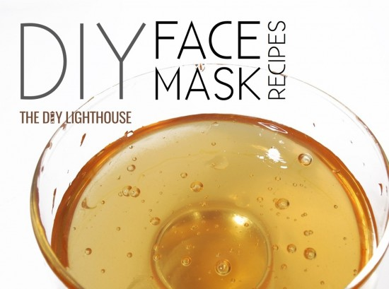 DIY face mask recipes honey
