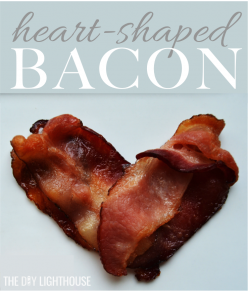 Heart shaped BACON