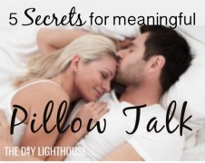 Pillow Talk- Five secrets