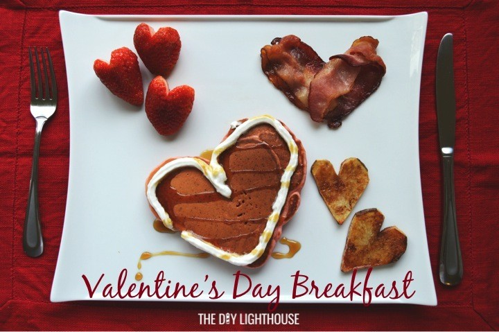 Valentineu0027s Day Breakfast Menu