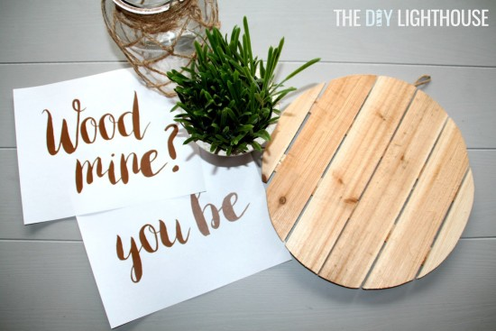 Wood you be mine sign1
