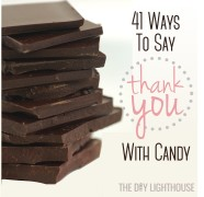 41 ways to say thank you with candy