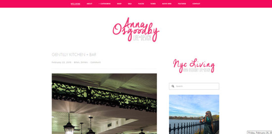 Anna Osgoodby Life and Design