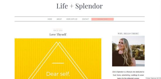 Life and Splendor