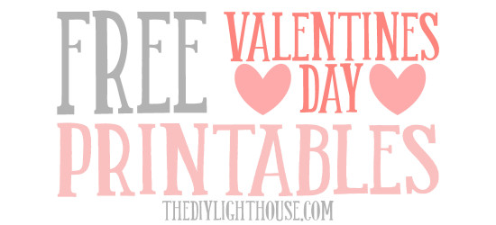 free valentines day printables the diy lighthouse