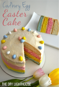 Easter Cadbury Egg Cake