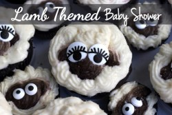 Lamb Themed Baby Shower