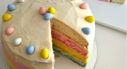 Easter: Cadbury Egg Cake