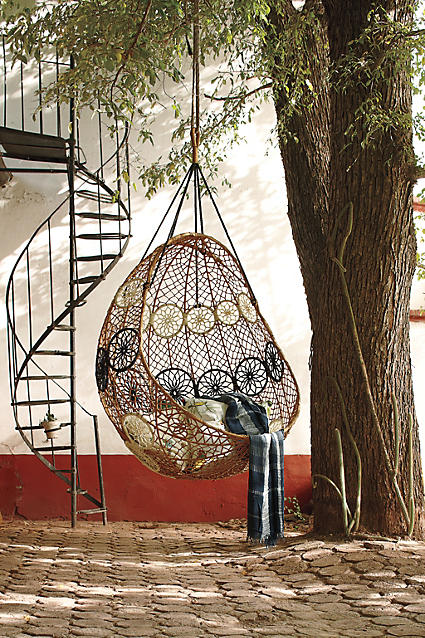 Knotted Melati Hanging Hammock Chair