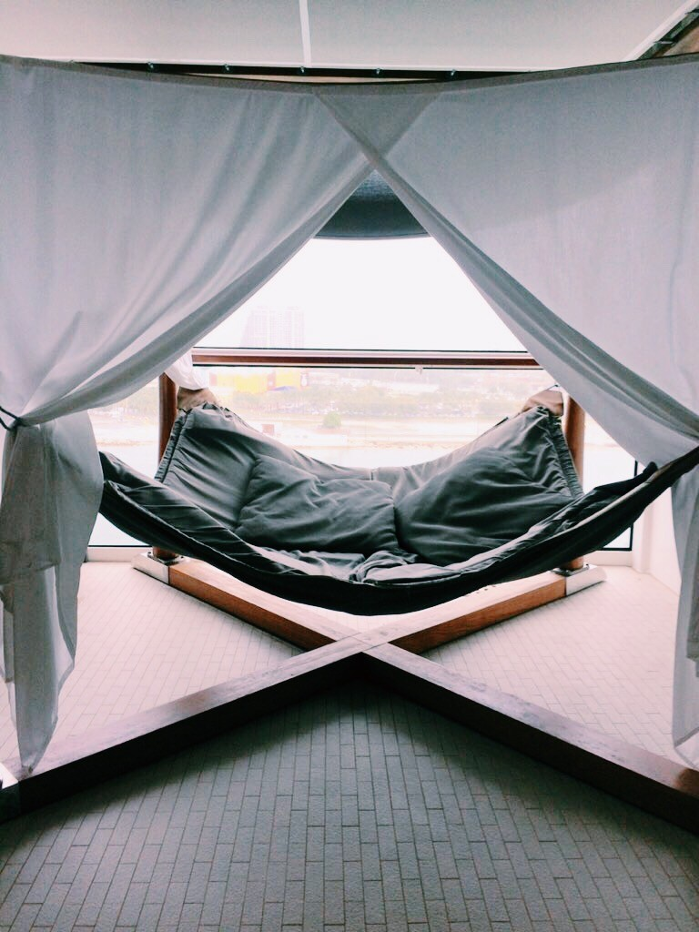 Indoor hammock bed - Pool Deck Cabana Hammock