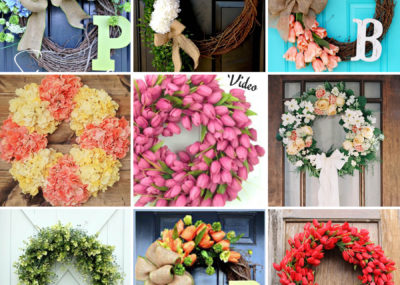 DIY Spring and Summer Wreath Compilation