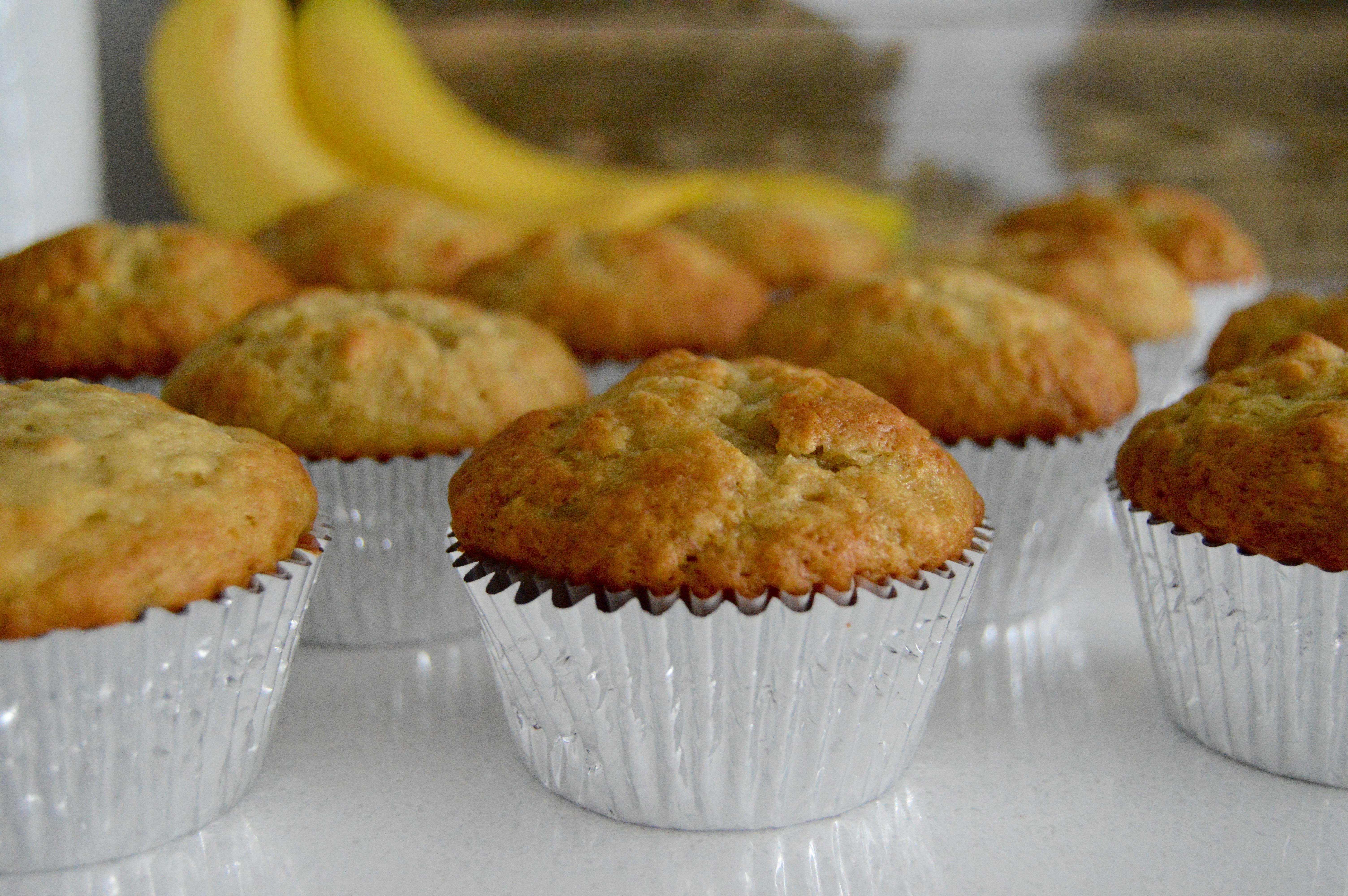 Moist Banana Muffins Recipe