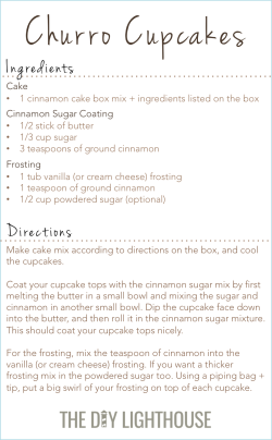 churro cupcakes ingredients and directions2