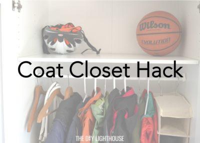 coat closet hack