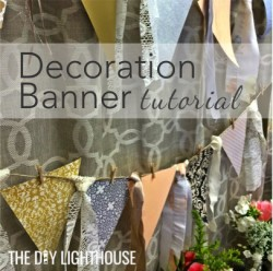decoration banner tutorial