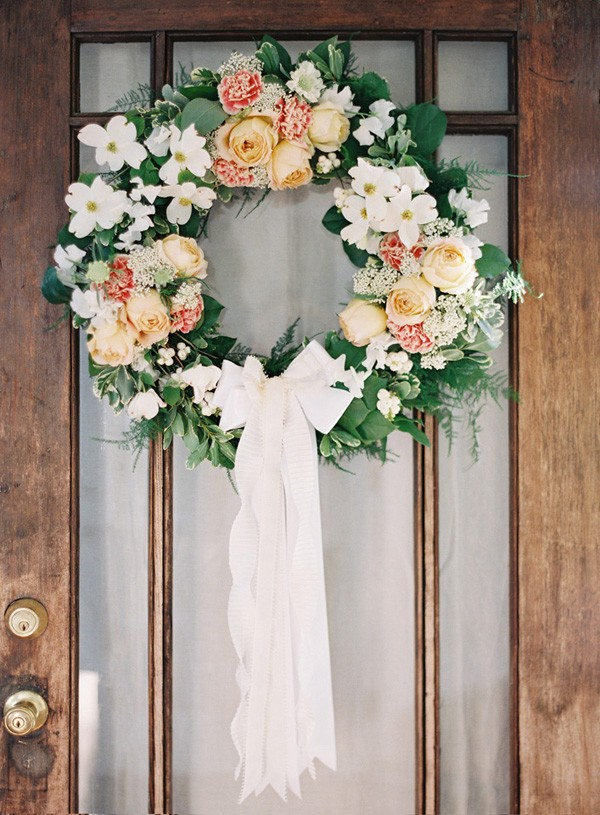DIY Floral Wedding Wreath