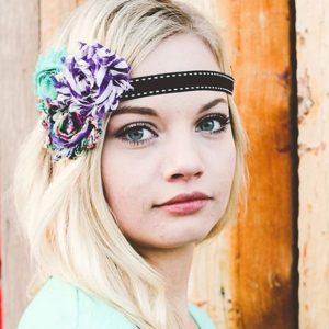 flower crown sash